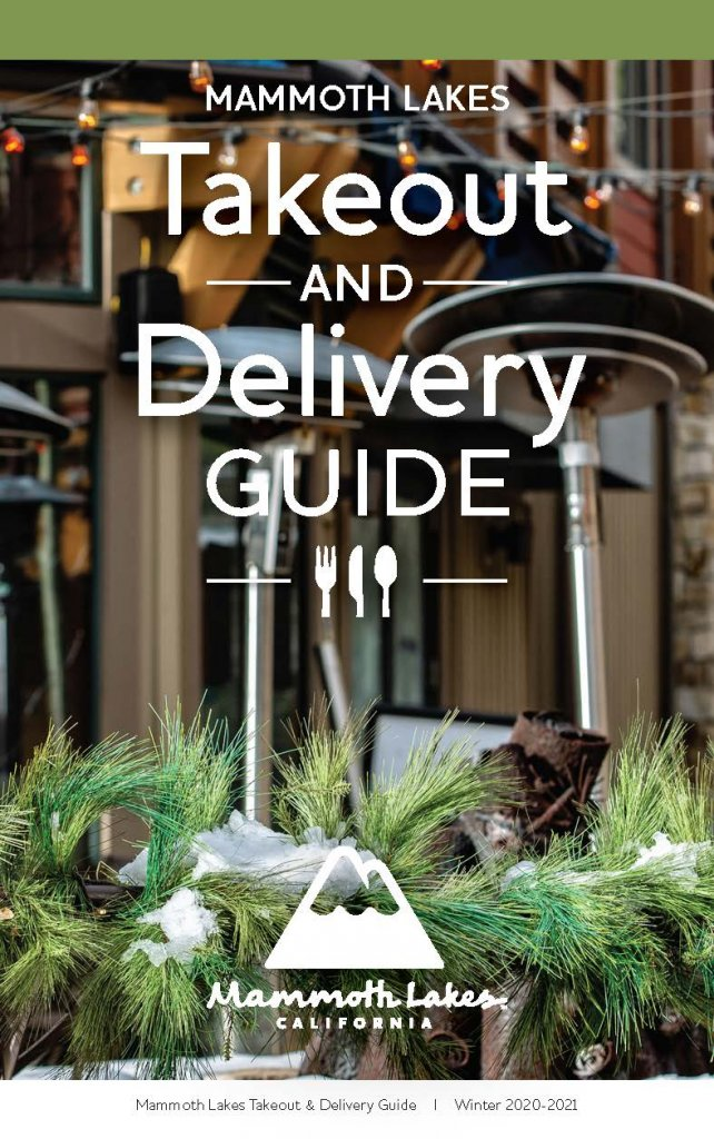 Mammoth Lakes Takeout & Delivery Guide